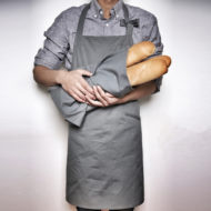 Gray Canvas Apron