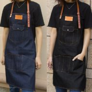 Blue Denim Bib Apron