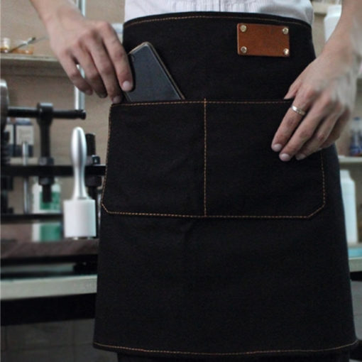 Half Length Denim Canvas Apron