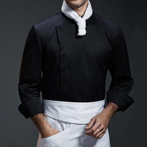 White Gray Black Long Sleeve Shirt