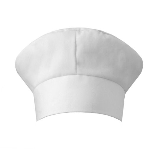 Black Red White Catering Cotton Hat – 2pcs