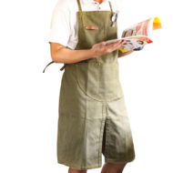 Long Canvas Apron