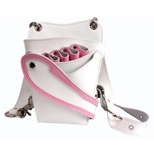 White Pink Hairdresser Holster