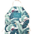 Plant Cotton Linen Long Apron