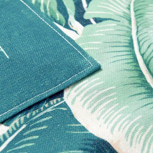 Plant Cotton Linen Long Apron