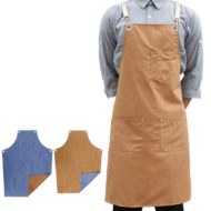 Double Sides 2 Colors Cotton Apron