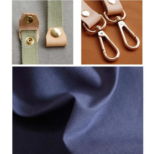 Double Sides 2 Colors Cotton Apron