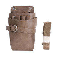Green Gray Khaki PU Barber Bag