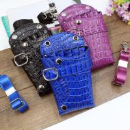 Black Purple Blue PU Hairdresser Holster
