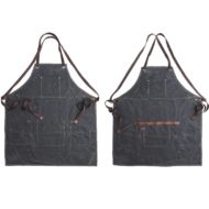 Waxed Canvas Apron Cotton Straps