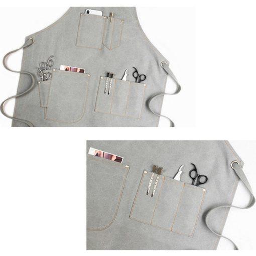 Canvas Apron Crossback Cotton Straps