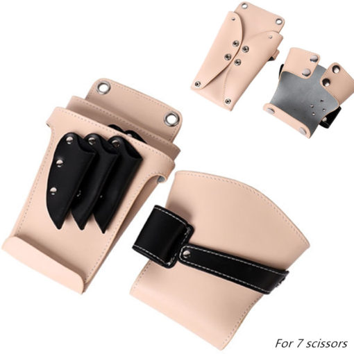 Apricot Barber Cow Split Leather Holster