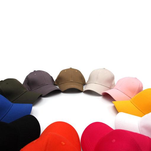 Cotton Baseball Cap Adjustable Waitstaff Hat