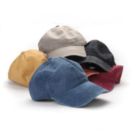 Vintage Cotton Baseball Hat Adjustable Cap