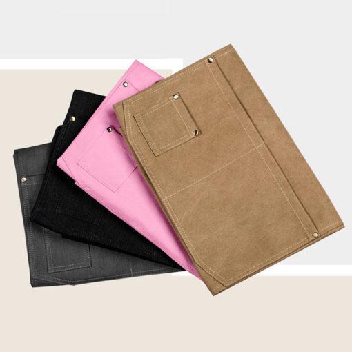 Black Gray Denim Pink Brown Canvas Work Wear