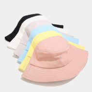 Cotton Fishing Beach Sun Hat Outdoor Bucket Cap