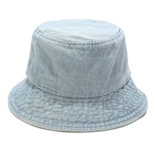 Denim Bucket Cap Outdoor Fishing Sun Hat
