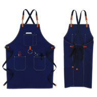 Waterproof Cotton Apron Crossback Strap