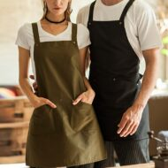 Polyester Cotton Apron Crossback Straps