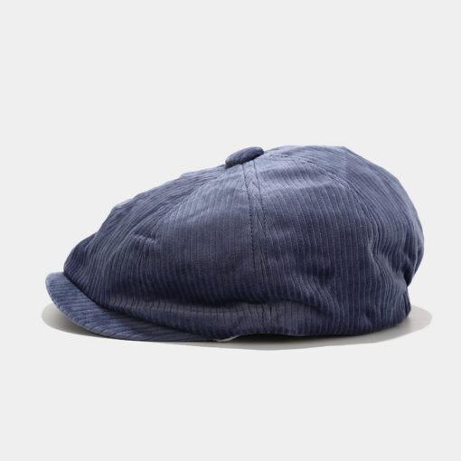 Corduroy Beret Sun Hat Outdoor Fishing Cap